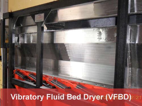 Vibratory Fluid Bed Dryer (VFBD)