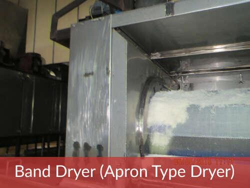 Band Dryer (Apron Type Dryer)